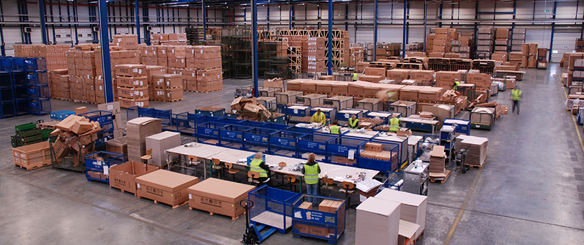 Spare part logistics – Rudolph